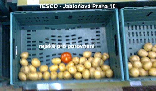 brambory Tesco