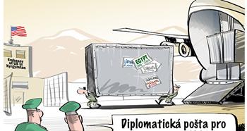 diplomatická pošta