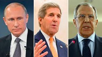 Putin, Kerry, Lavrov