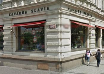 kavárna Slavie