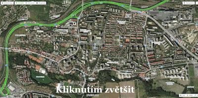 Zaběhlice mapa