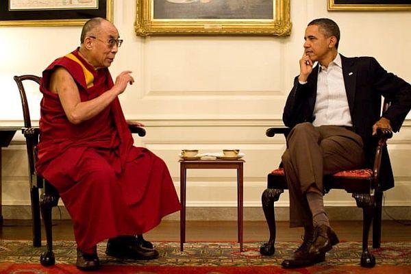 Dalajlama a Obama