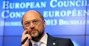Předseda parlamentu EU Schulz