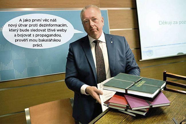 Ministr vnitra Chovanec