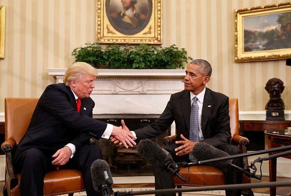 Trump a Obama