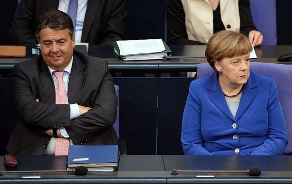 Gabriel plus Merkel
