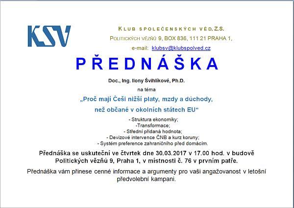 Přednáška KSV