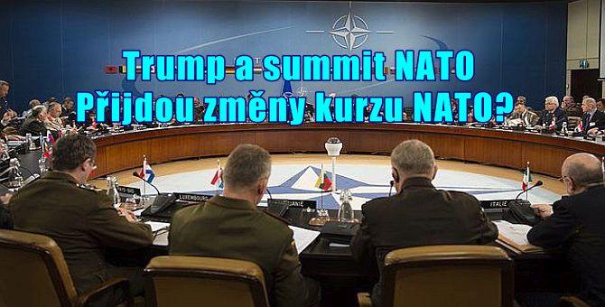 Veronika Sušová-Salminen o dnešním prvním Trumpově summitu NATO v Bruselu. Bude to summit kontinuity, nebo změny kurzu?